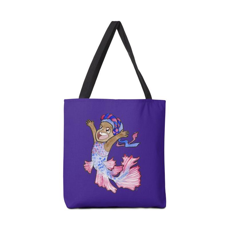 Beta Buddie Accessories Bag by JordanaHeney Illustration
