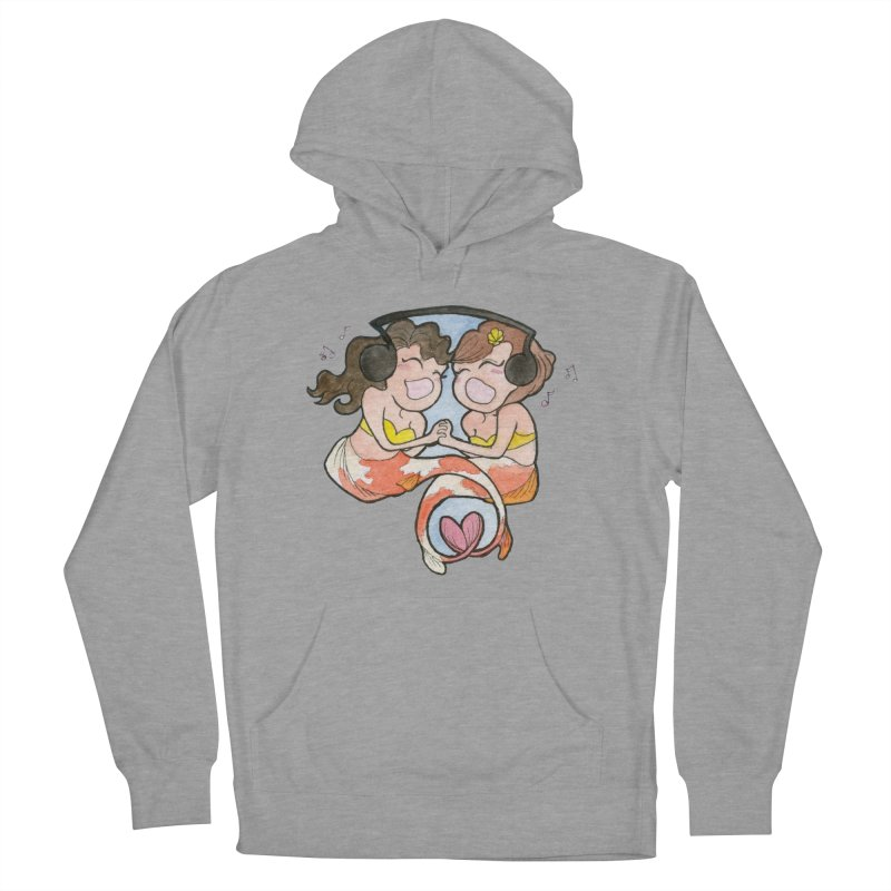 Besties Women's French Terry Pullover Hoody by JordanaHeney Illustration