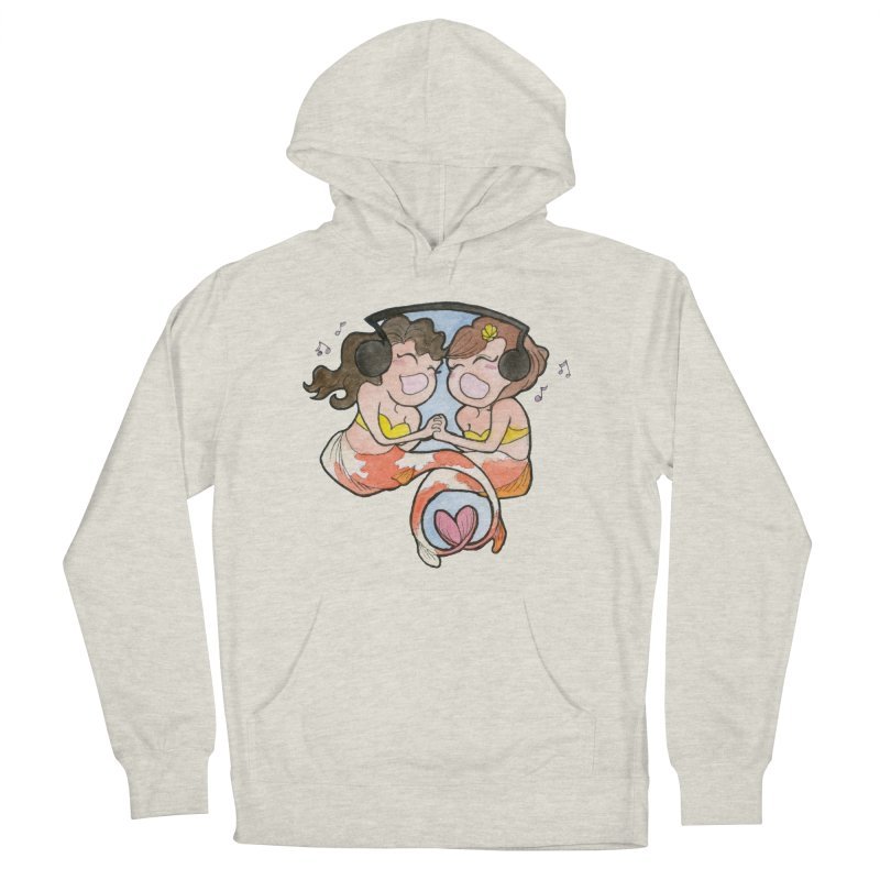 Besties Men's French Terry Pullover Hoody by JordanaHeney Illustration