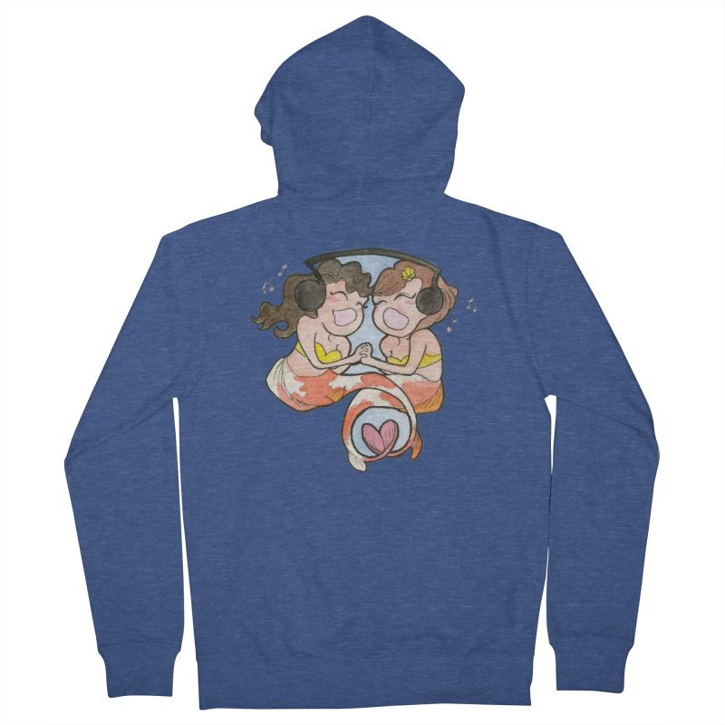 Besties Women's French Terry Zip-Up Hoody by JordanaHeney Illustration