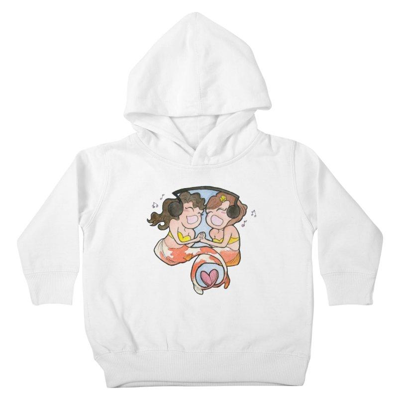 Besties Kids Toddler Pullover Hoody by JordanaHeney Illustration