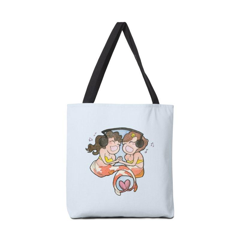 Besties Accessories Tote Bag Bag by JordanaHeney Illustration