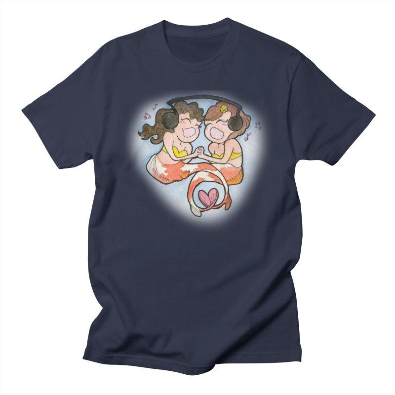 Besties Women's Unisex T-Shirt by JordanaHeney Illustration