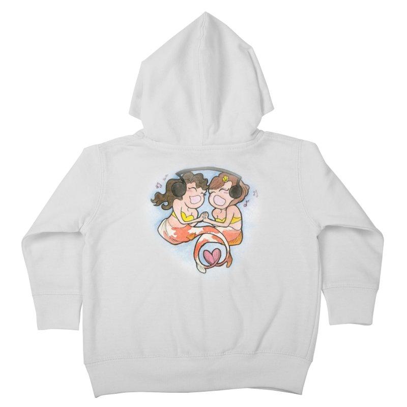 Besties Kids Toddler Zip-Up Hoody by JordanaHeney Illustration