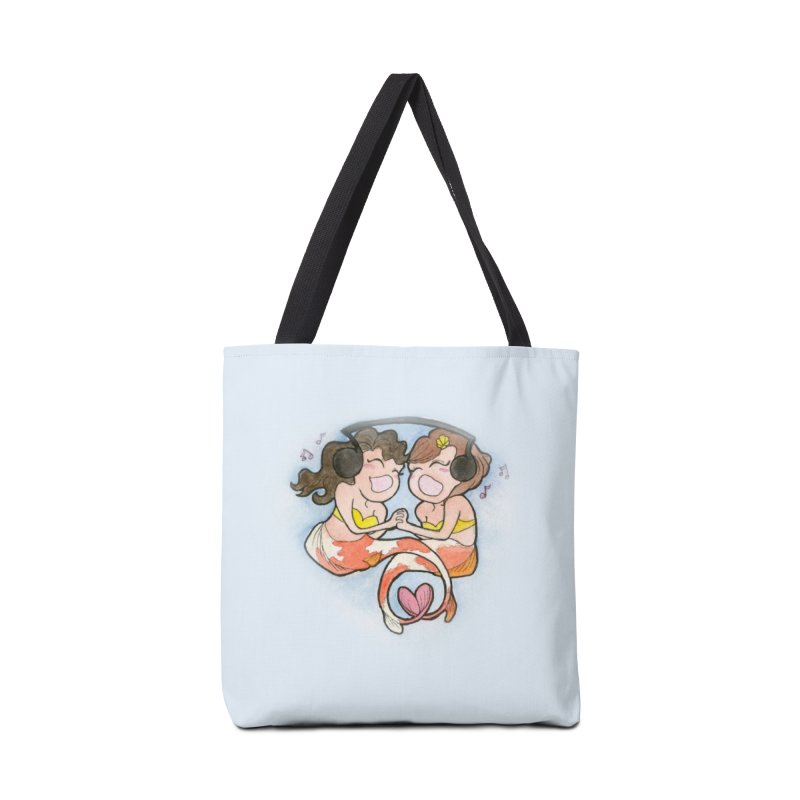 Besties Accessories Bag by JordanaHeney Illustration