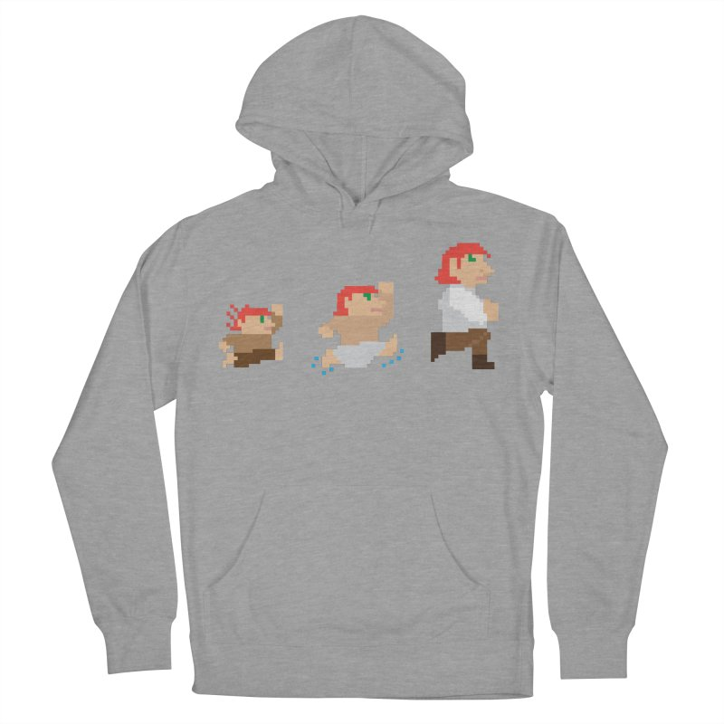 Level Up Women's French Terry Pullover Hoody by JordanaHeney Illustration