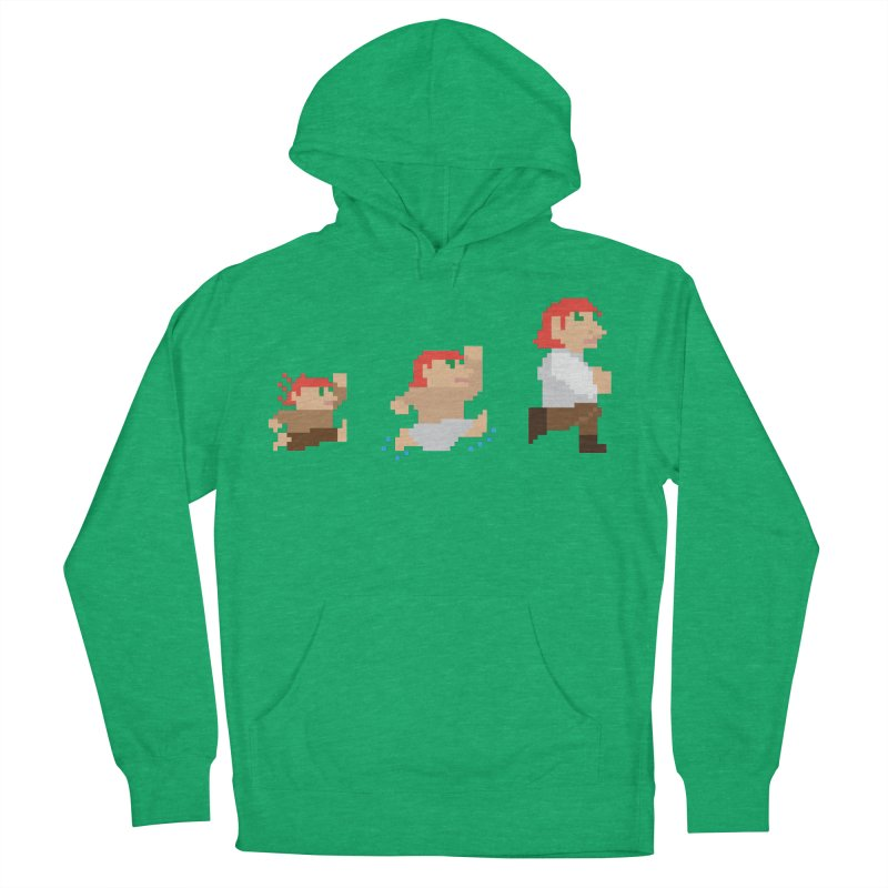 Level Up Men's French Terry Pullover Hoody by JordanaHeney Illustration