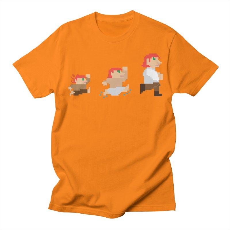 Level Up Men's Regular T-Shirt by JordanaHeney Illustration