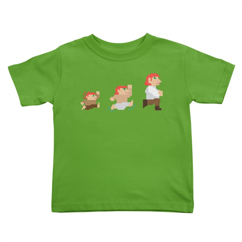 Level Up Kids Toddler T-Shirt by JordanaHeney Illustration