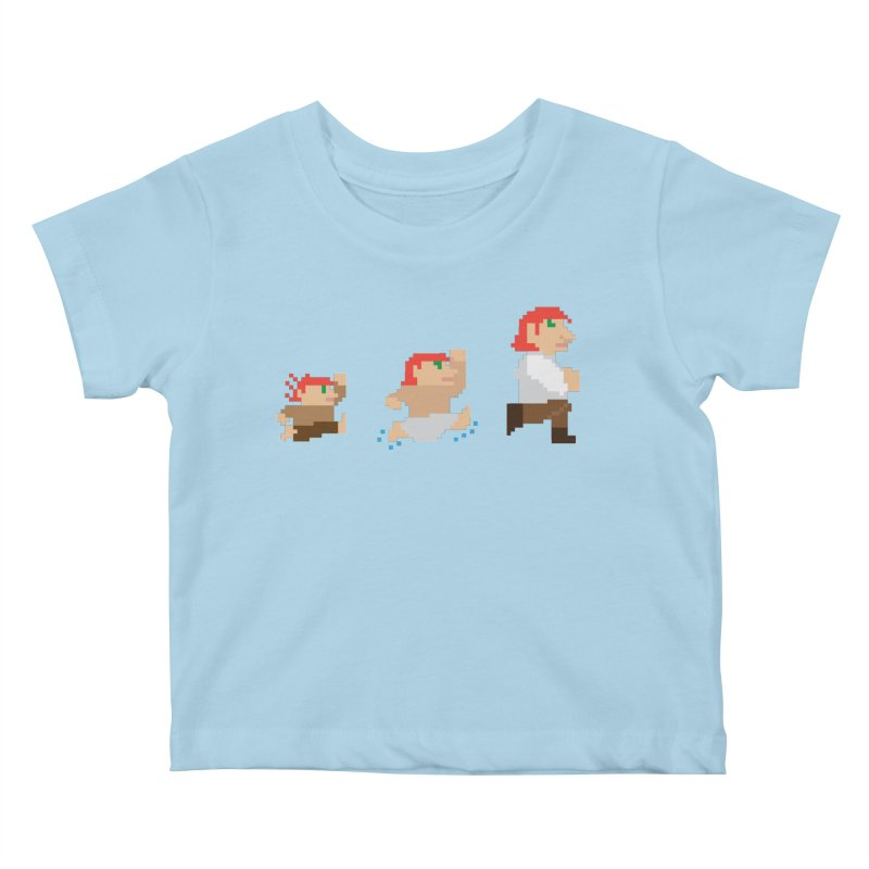 Level Up Kids Baby T-Shirt by JordanaHeney Illustration