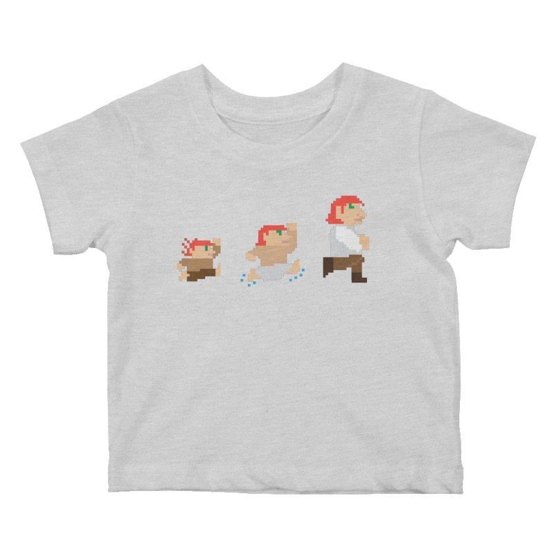 Level Up Kids Baby T-Shirt by JordanaHeney Illustration