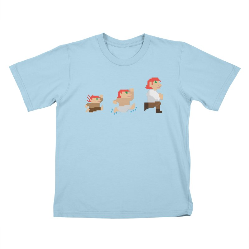 Level Up Kids T-Shirt by JordanaHeney Illustration