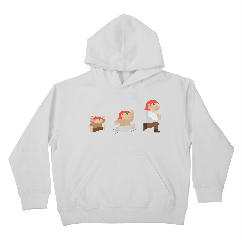 Level Up Kids Pullover Hoody by JordanaHeney Illustration