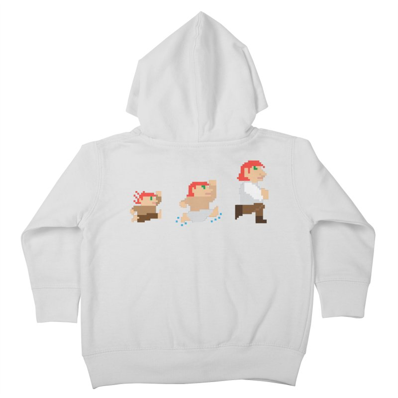 Level Up Kids Toddler Zip-Up Hoody by JordanaHeney Illustration