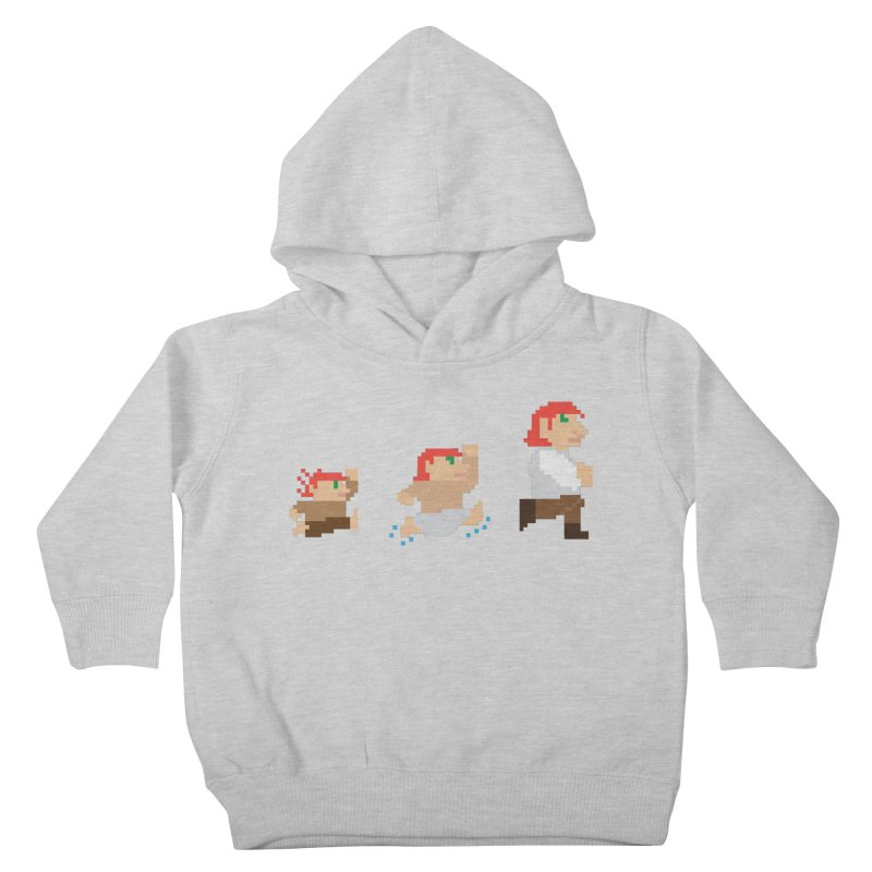 Level Up Kids Toddler Pullover Hoody by JordanaHeney Illustration