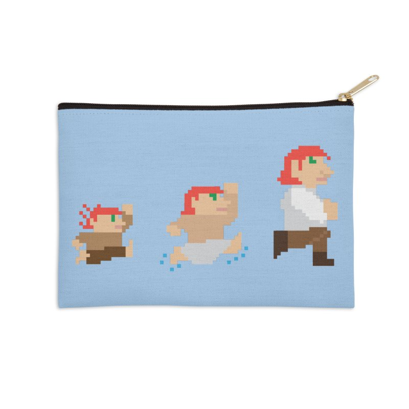 Level Up Accessories Zip Pouch by JordanaHeney Illustration