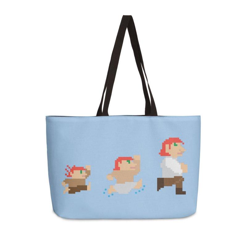 Level Up Accessories Weekender Bag Bag by JordanaHeney Illustration
