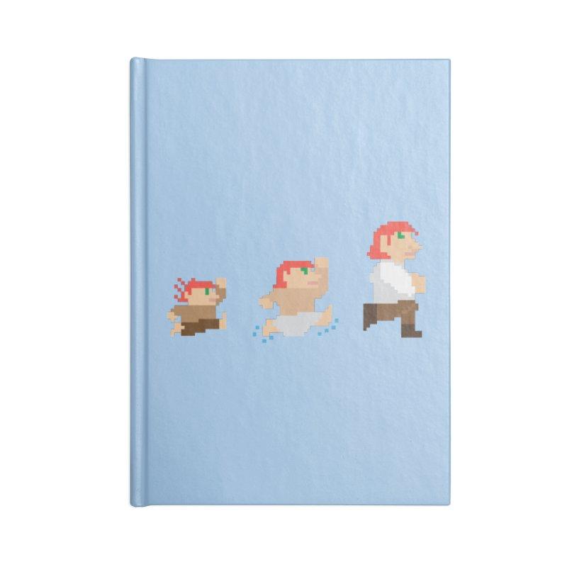 Level Up Accessories Notebook by JordanaHeney Illustration
