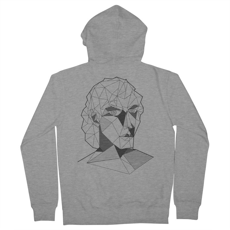The Arcanist Men's French Terry Zip-Up Hoody by JordanaHeney Illustration