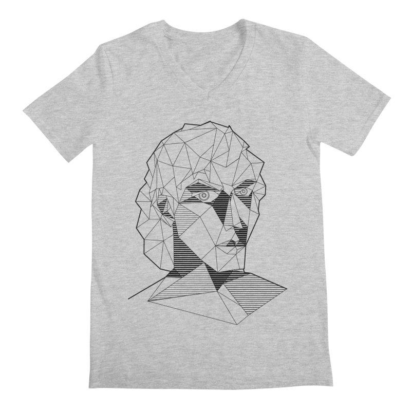 The Arcanist Men's Regular V-Neck by JordanaHeney Illustration
