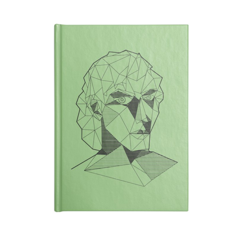 The Arcanist Accessories Lined Journal Notebook by JordanaHeney Illustration