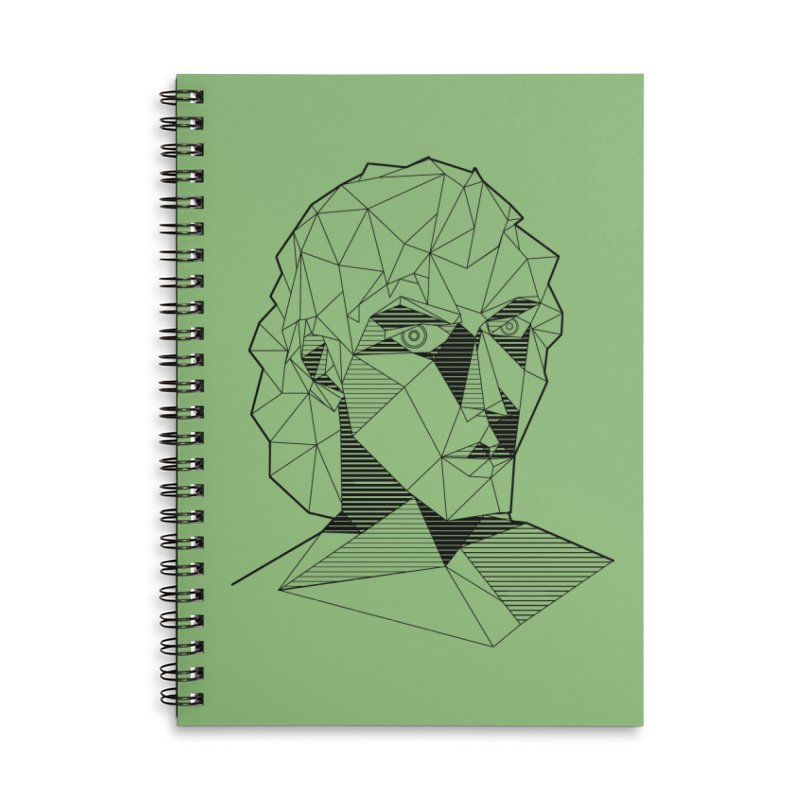 The Arcanist Accessories Lined Spiral Notebook by JordanaHeney Illustration