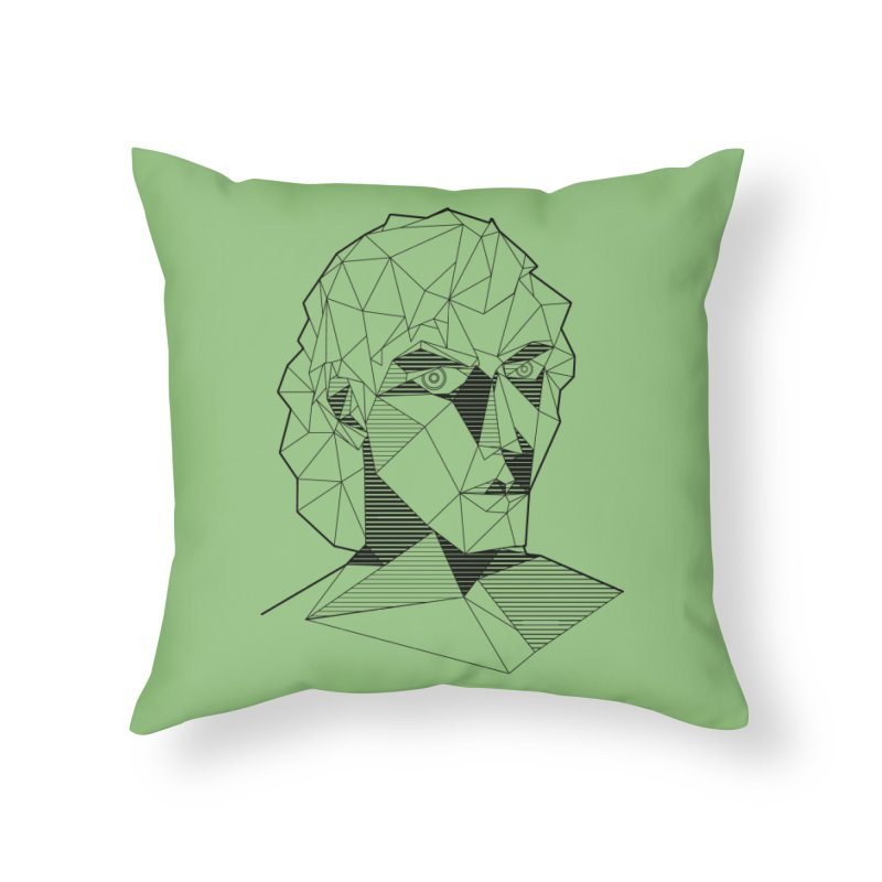 The Arcanist Home Throw Pillow by JordanaHeney Illustration
