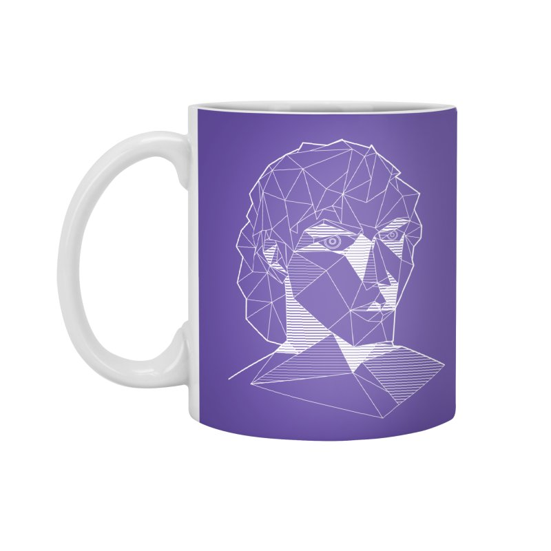 The Arcanist (inverse) Accessories Mug by JordanaHeney Illustration