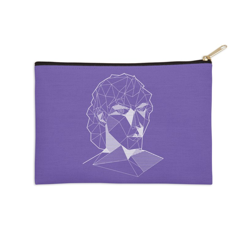 The Arcanist (inverse) Accessories Zip Pouch by JordanaHeney Illustration