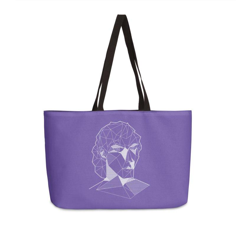 The Arcanist (inverse) Accessories Weekender Bag Bag by JordanaHeney Illustration