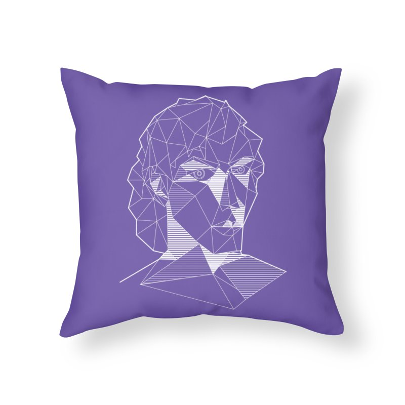 The Arcanist (inverse) Home Throw Pillow by JordanaHeney Illustration