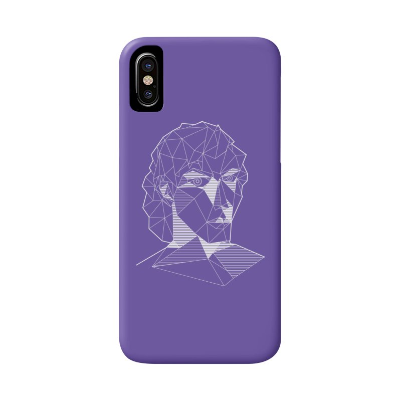 The Arcanist (inverse) Accessories Phone Case by JordanaHeney Illustration