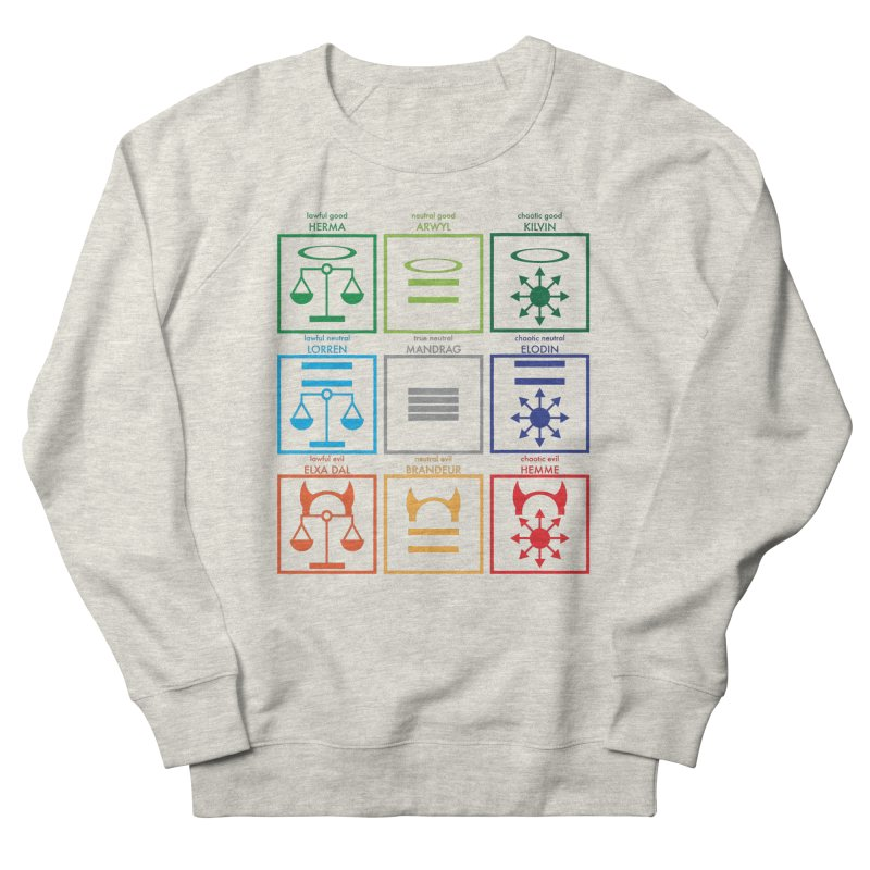 Alignment Chart (PotW) Men's Sweatshirt by JordanaHeney Illustration