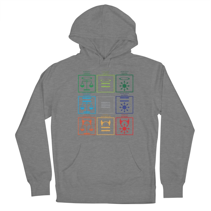 Alignment Chart (PotW) Women's Pullover Hoody by JordanaHeney Illustration