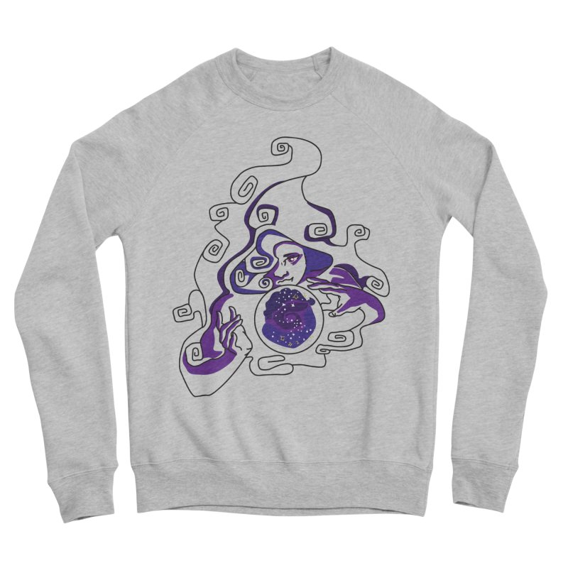 Crystal Baller Women's Sponge Fleece Sweatshirt by JordanaHeney Illustration