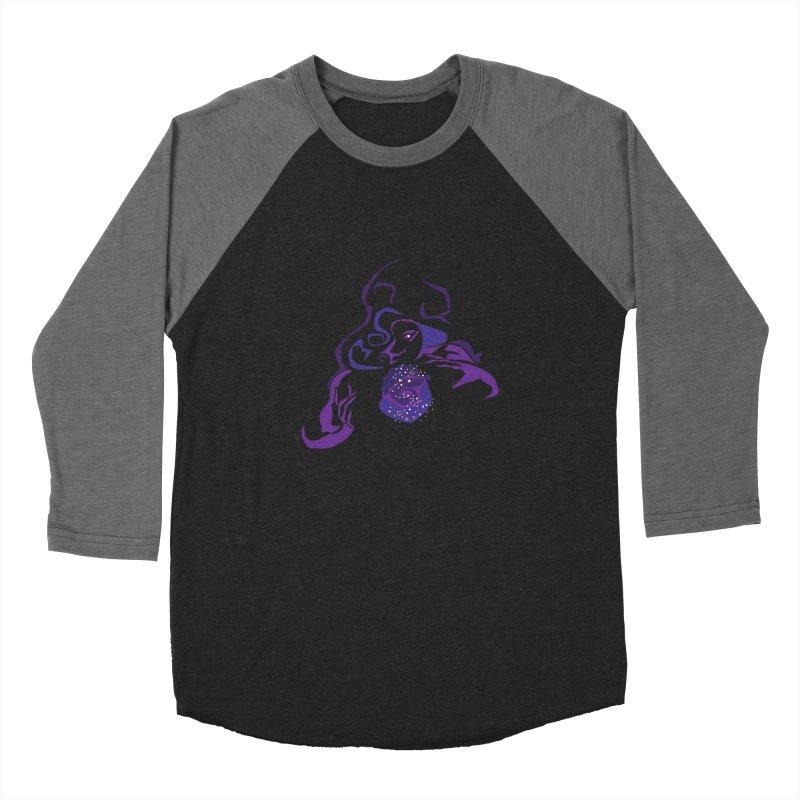 Crystal Baller Women's Baseball Triblend Longsleeve T-Shirt by JordanaHeney Illustration