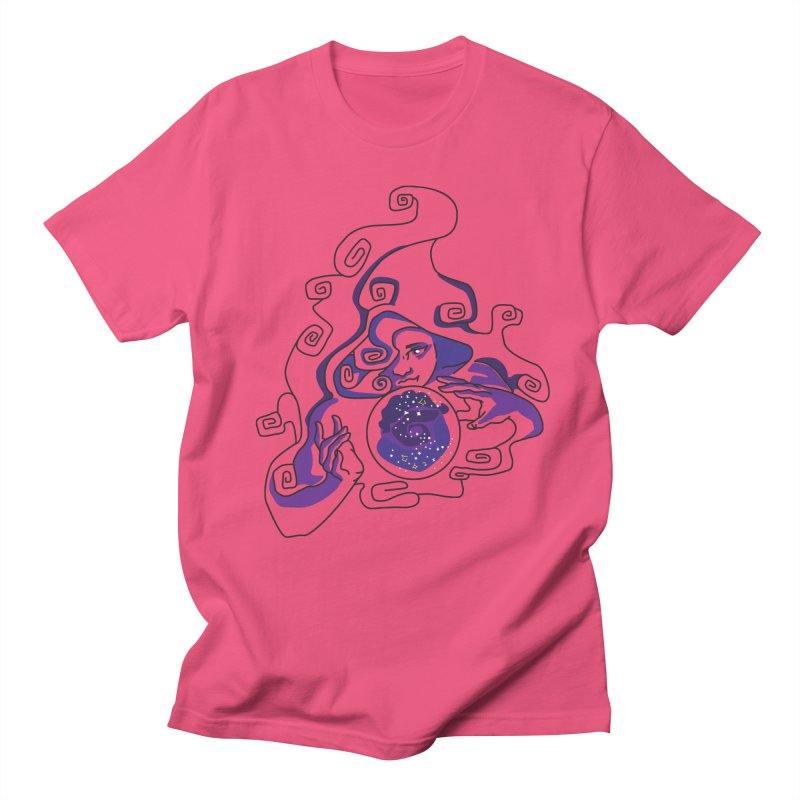 Crystal Baller Men's Regular T-Shirt by JordanaHeney Illustration