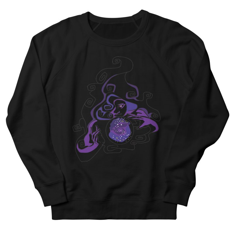 Crystal Baller Women's French Terry Sweatshirt by JordanaHeney Illustration