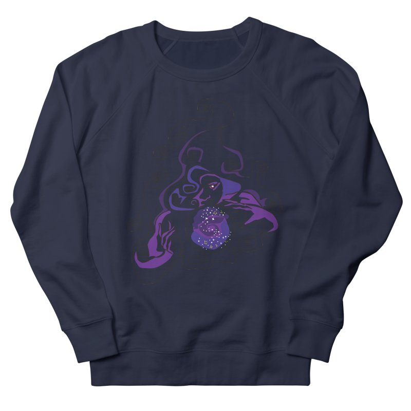 Crystal Baller Women's French Terry Sweatshirt by JordanaHeney Illustration
