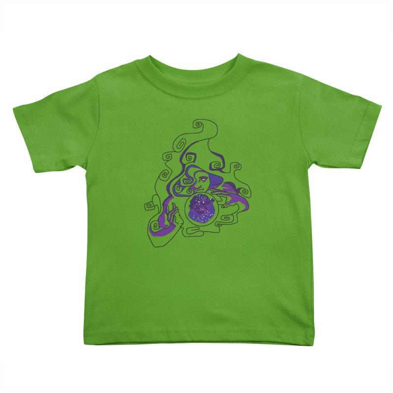 Crystal Baller Kids Toddler T-Shirt by JordanaHeney Illustration