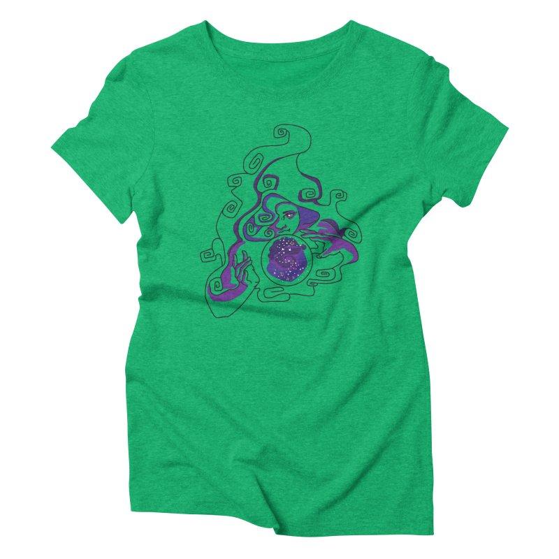 Crystal Baller Women's Triblend T-Shirt by JordanaHeney Illustration