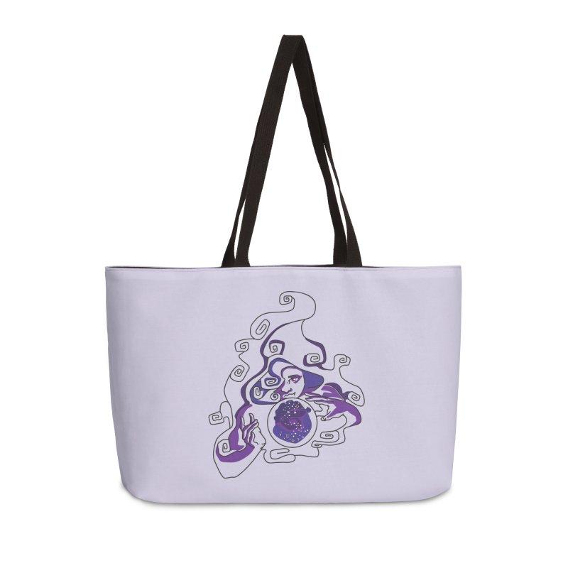 Crystal Baller Accessories Weekender Bag Bag by JordanaHeney Illustration