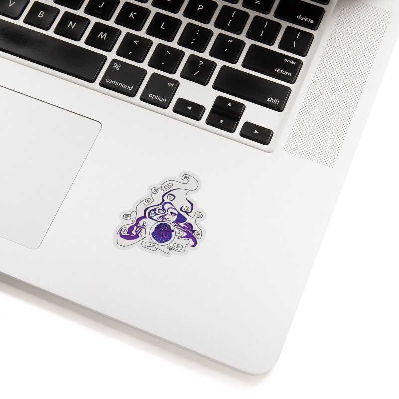 Crystal Baller Accessories Sticker by JordanaHeney Illustration