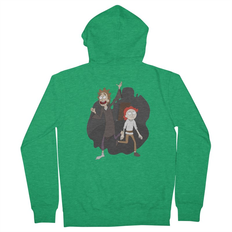 Arcanists Men's Zip-Up Hoody by JordanaHeney Illustration
