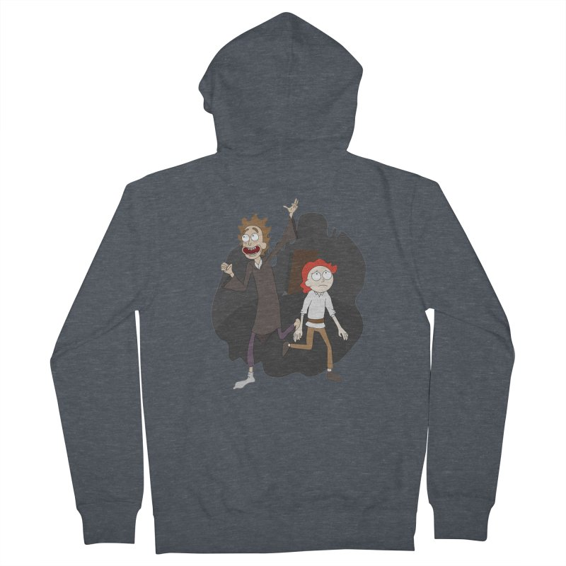 Arcanists Women's French Terry Zip-Up Hoody by JordanaHeney Illustration