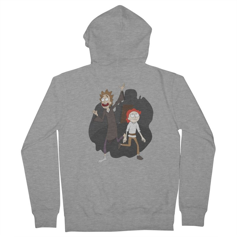 Arcanists Men's French Terry Zip-Up Hoody by JordanaHeney Illustration