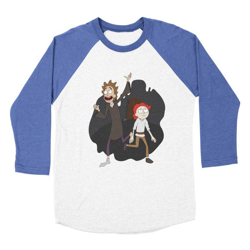 Arcanists Men's Baseball Triblend Longsleeve T-Shirt by JordanaHeney Illustration