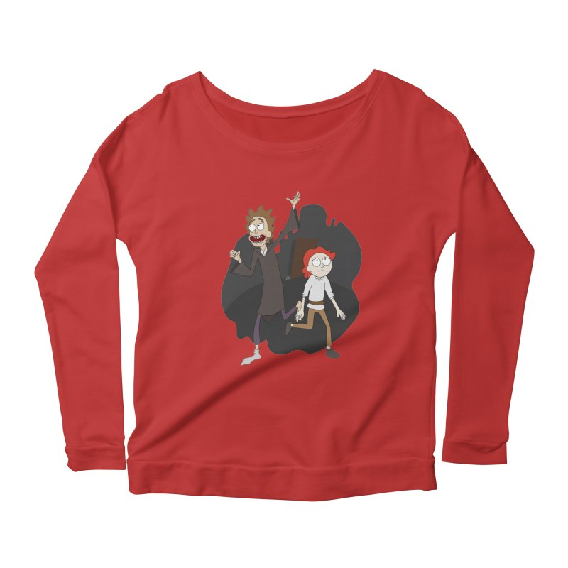 Arcanists Women's Scoop Neck Longsleeve T-Shirt by JordanaHeney Illustration