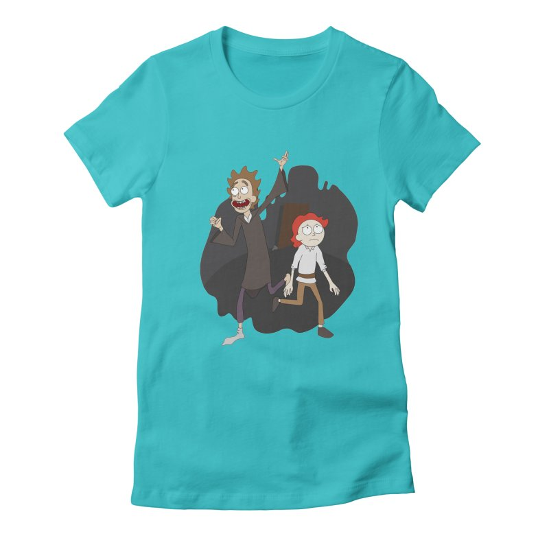 Arcanists Women's Fitted T-Shirt by JordanaHeney Illustration
