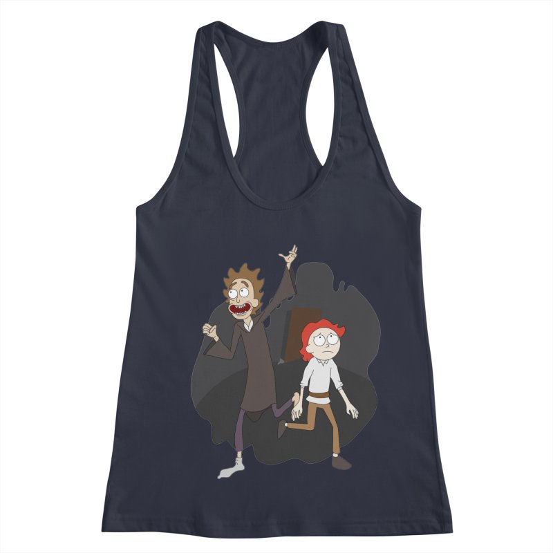 Arcanists Women's Racerback Tank by JordanaHeney Illustration
